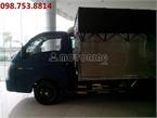 Hyundai Porter II H100  1 Tấn Thùng Kín, Mui Bạt